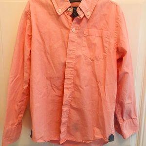 Gap 6/7 Pink Boys Dress Shirt.